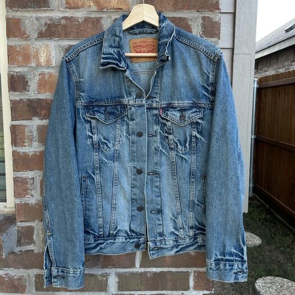 90's Levi's Strauss Blue Denim Jacket